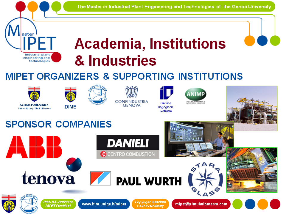 MIPET Current Edition Sponsors